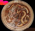 Dragon Pyrograph (Woodburning)
