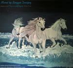 Horse Mural by snazzie-designz