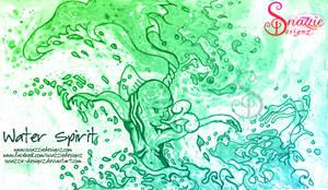 Water Spirit by Snazzie Designz