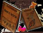 Refillable Hardback Butterfly Book/Journal