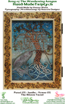 Hand Made Triptych - Panel 01 Inside Silver Trout by snazzie-designz