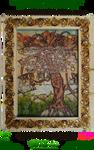 Triptych Panel 03 Golden Apples
