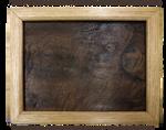 Beautiful handmade walnut and American oak frame by snazzie-designz