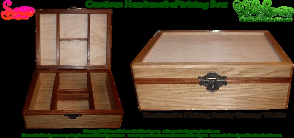 Hand Made Fishing Box by Aldwarke by snazzie-designz