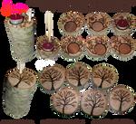 Handmade Coasters/Tea Light Holders 01