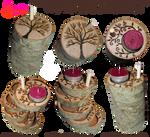 Handmade Coasters/Tea Light Holders 02