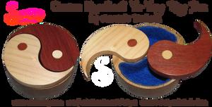 Custom Made Yin-Yang Box by snazzie-designz