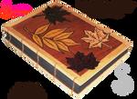 Handmade Coptic Bound  Leaf Book 02