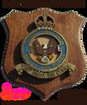 Handmade RAF Eagle Squadron 71 Plaque Front