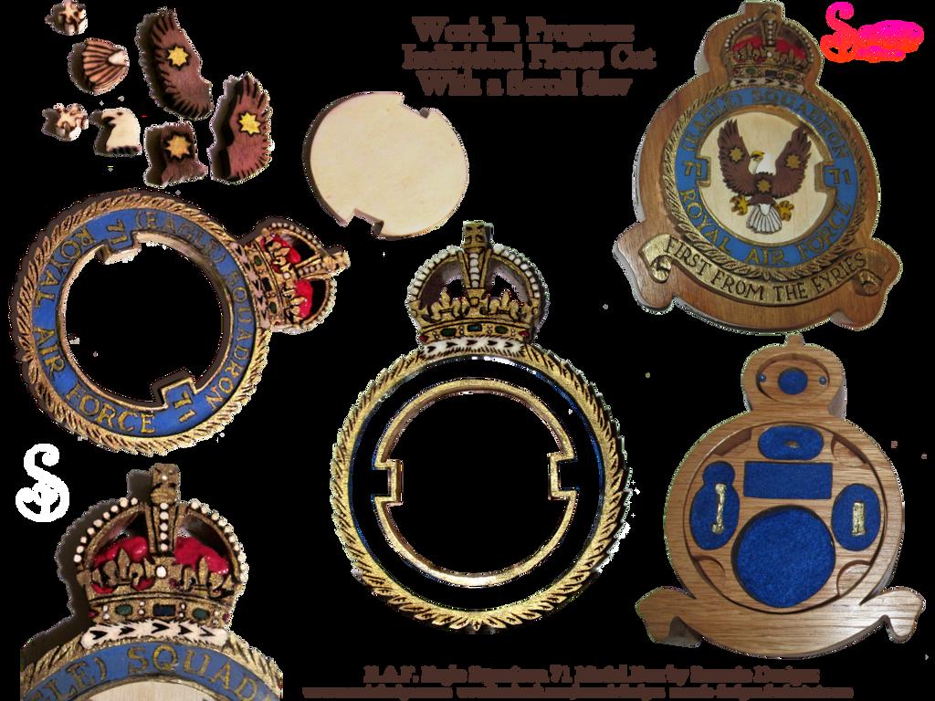 RAF Medal Box WIP by snazzie-designz
