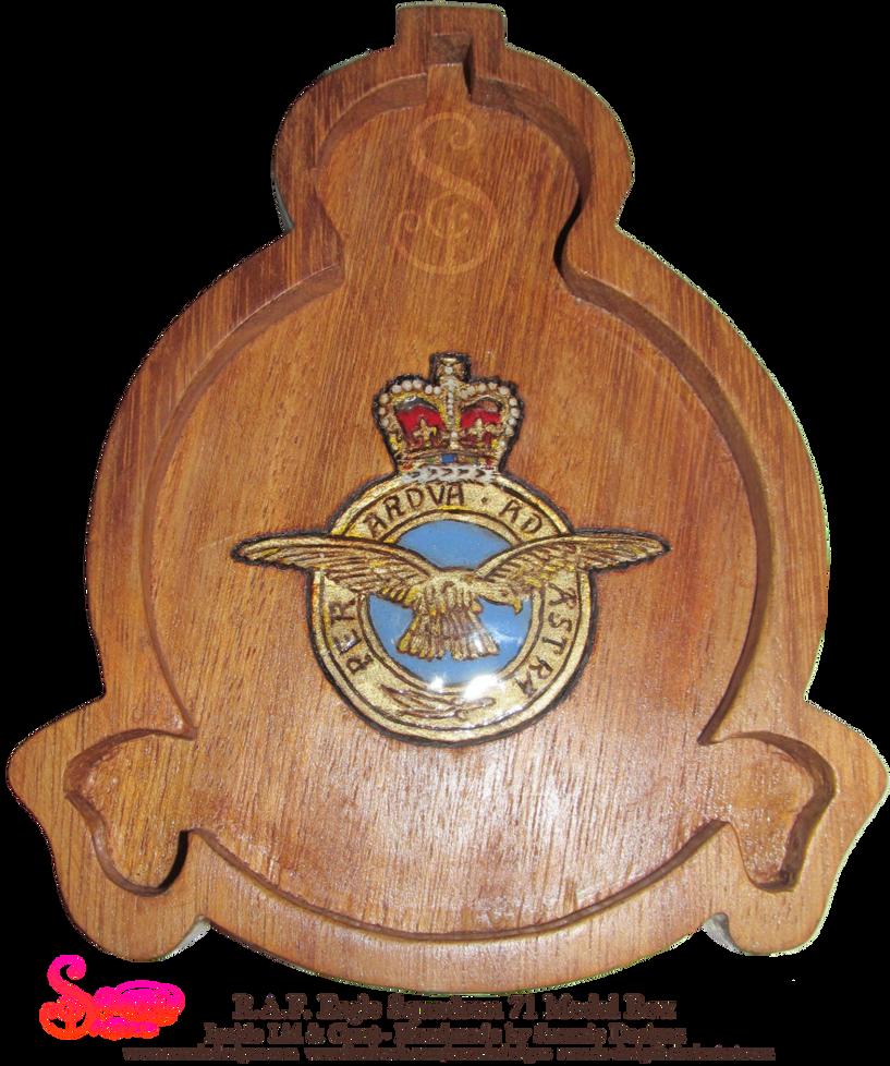 03 RAF Medal Box Inside Lid by snazzie-designz