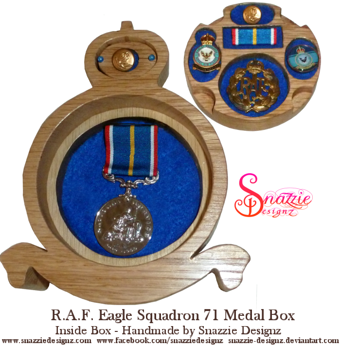 RAF Medal Box - Base Layer by snazzie-designz