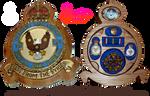 Handmade RAF Eagle Squadron 71 Medal Box