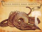 Draco Dormeins Sleeping Drgaon 02 Snazzie Designz by snazzie-designz