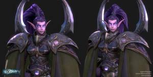 The Warden - Closeup by Goraaz