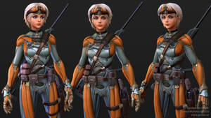 Exoskeleton Sniper - Closeup