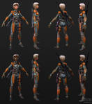Exoskeleton Sniper - Construction