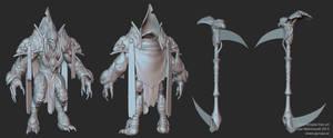 Dark Templar - Zbrush sculpt