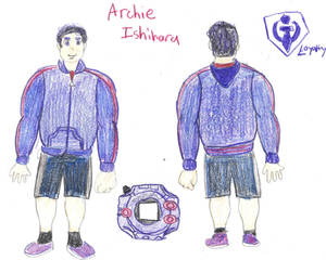 Archie Ishihara Front and Back