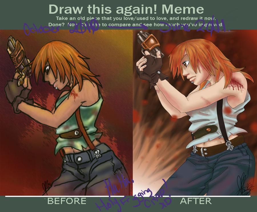 Draw This Again Meme by LadyFitz