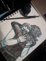 Sherlock WIP by LadyFitz