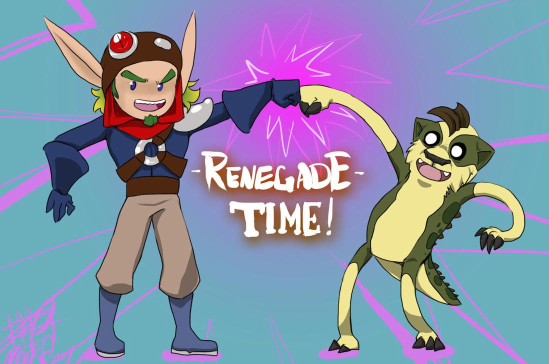 Renegade Time! By LadyFitz On DeviantArt