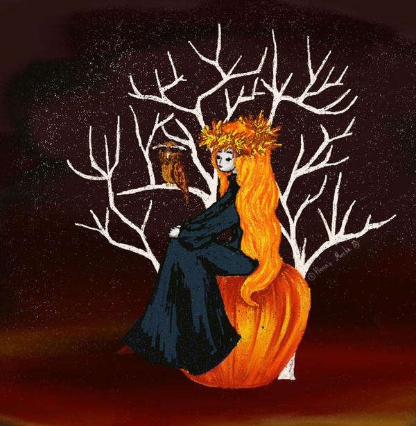 Halloween Queen by HannaMucha