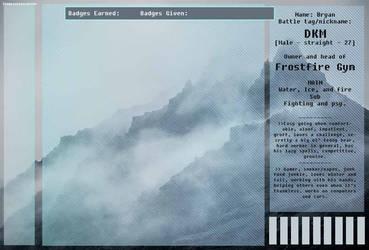 Frostfire Gym app [trainer variation] by StormHavenRanch