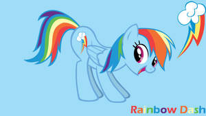 MLP: Rainbow Dash Fun Background