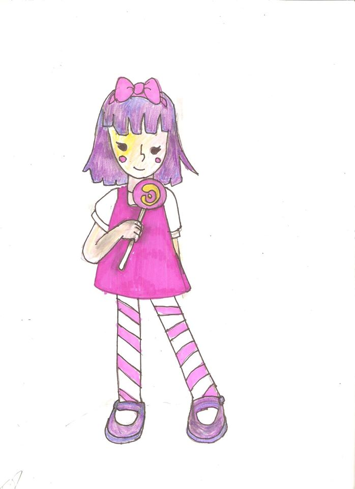 Purple Lolli Pop Cutie by pixarviolet