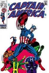 Comic Book Art by Jim Steranko by FringerFrankie