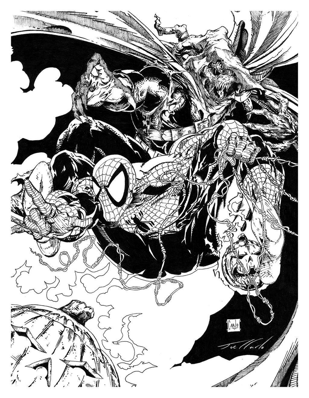Comic Book Art by Todd McFarlane by FringerFrankie