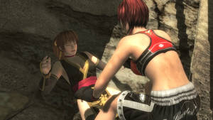 Kasumi downed by Mila 2