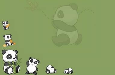 Panda Wallpaper by PandaCandy15