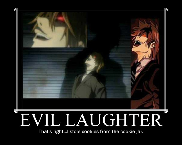death note light laugh - photo #18