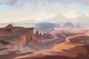 Canyonlands Doodle by Varrulin