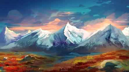 Impressive World: Tundra by Varrulin