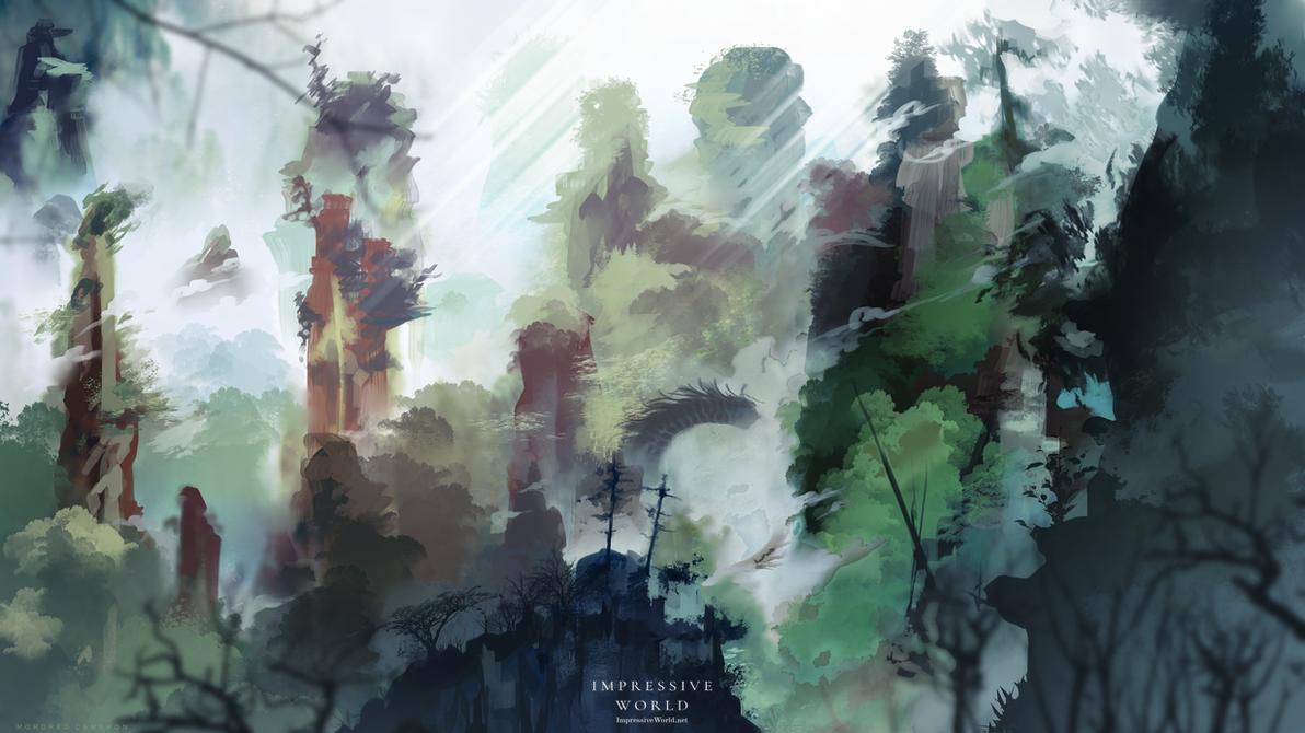 Impressive World: Ascension Land by Varrulin
