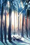 Winter Shack
