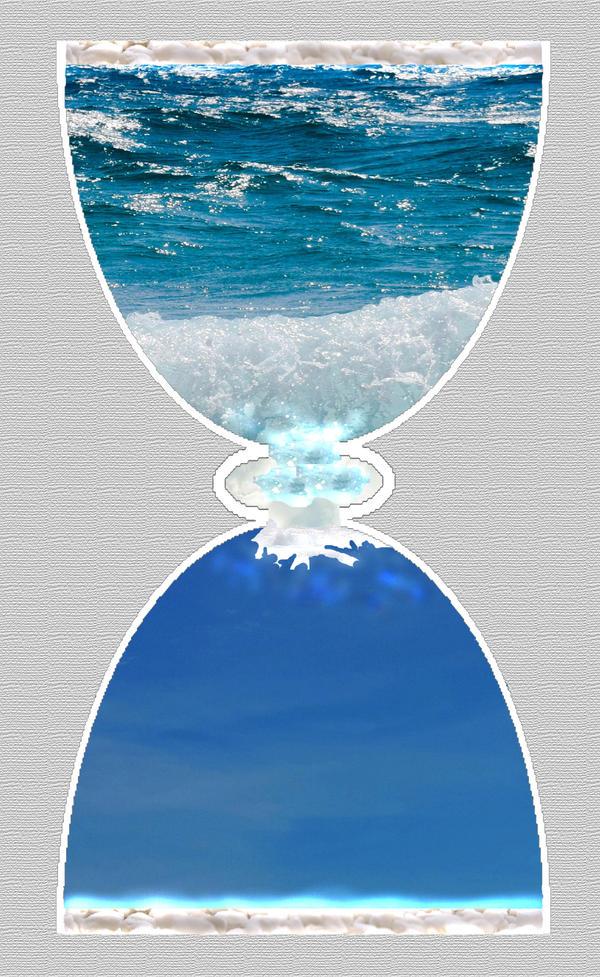 Sablier de ciel marin