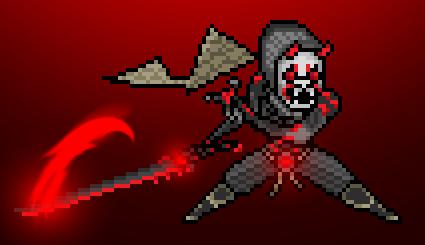 Pixel Oni Genji by cezary21