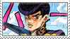 Josuke Higashikata (Part 4) Stamp by JPMD64