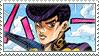 Josuke Higashikata (Part 4) Stamp by JPMD64