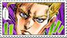 Kira Yoshikage Stamp by JPMD64