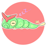 #010 Caterpie by KunoHami