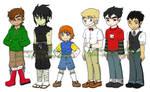Boy Character Sheet 1