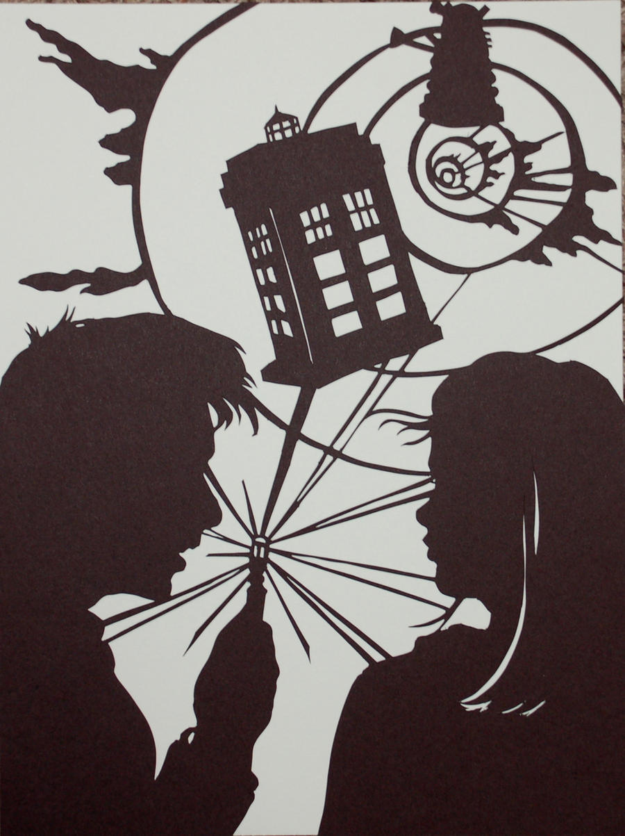 Doctor Who and Rose by Gateship