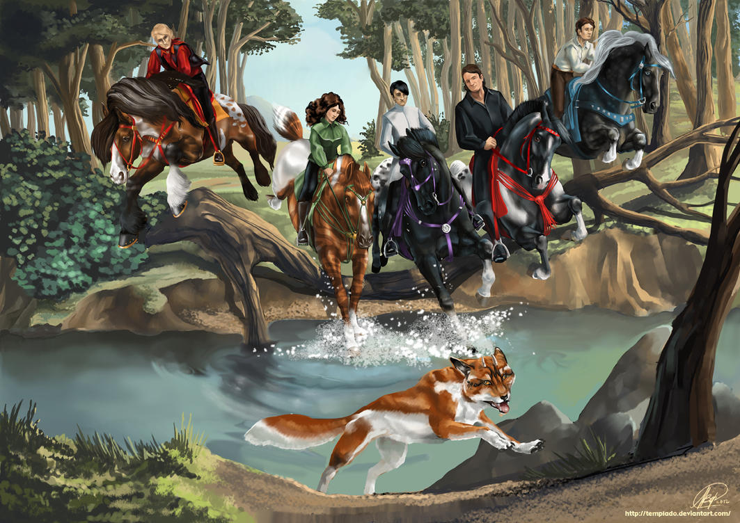 Golden Fox Hunt by Templado