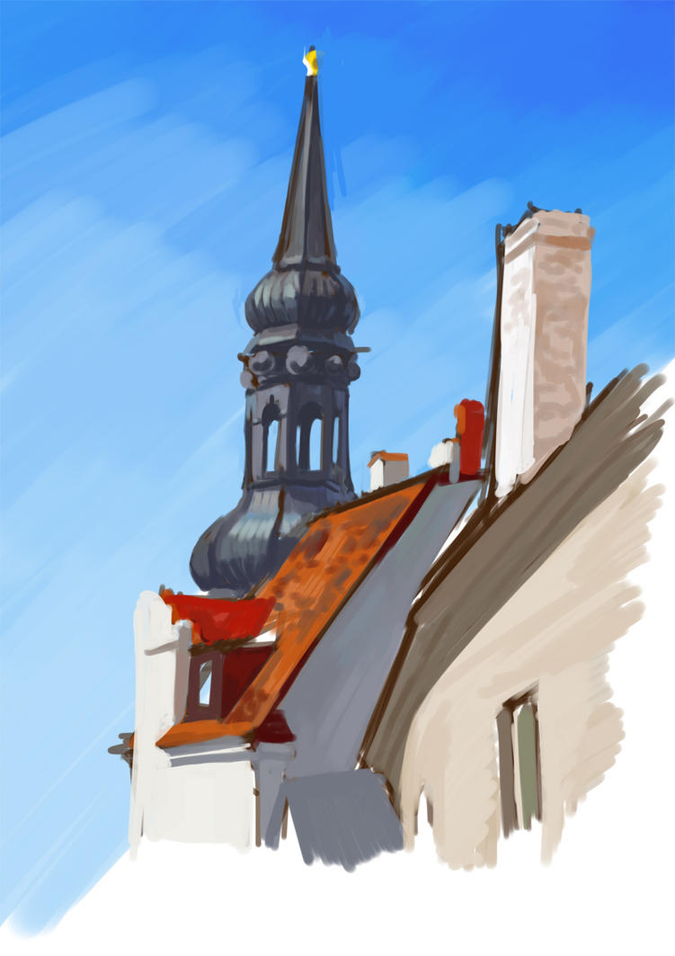 Tallinn Sketch by Templado