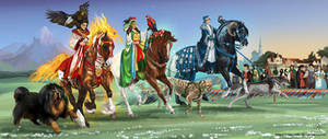 The Parade by Templado